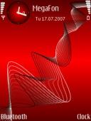 Скриншот темы Strange для телефона Nokia