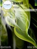 Скриншот темы Olivegreen для телефона Nokia