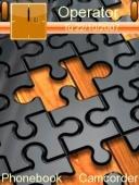 Скриншот темы Missing Puzzle для телефона Nokia